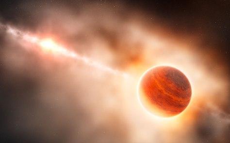 Rappresentazione-artistica-di-un-pianeta-gassoso-gigante-in-formazione-nel-disco-della-giovane-stella-HD-100546