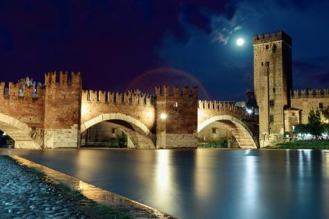 Alessandra Piasecka - Verona - Moonbow - Ponte di Castelvecchio