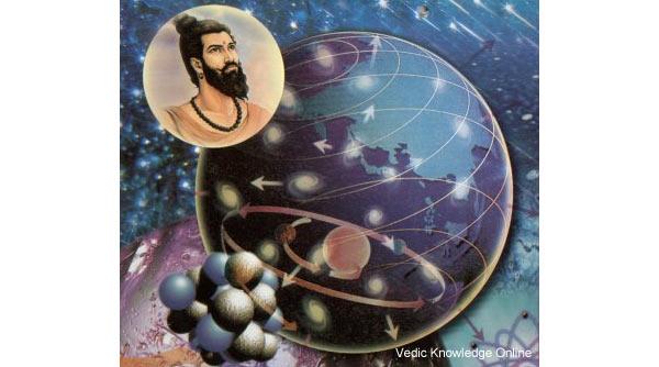 Il saggio indiano che ha sviluppato la teoria atomica 2.600 anni fa