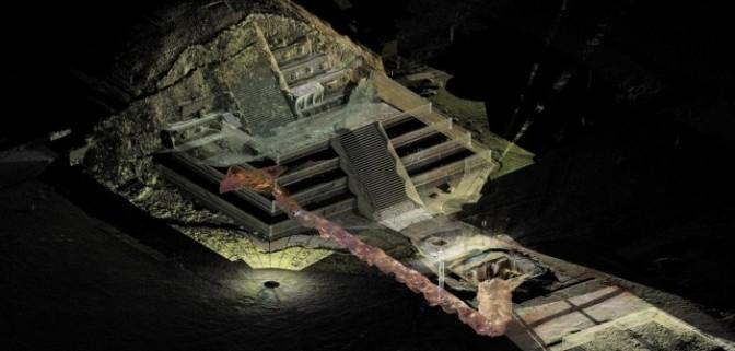 Scoperto mercurio liquido sotto una piramide messicana: potrebbe portare alla tomba del re