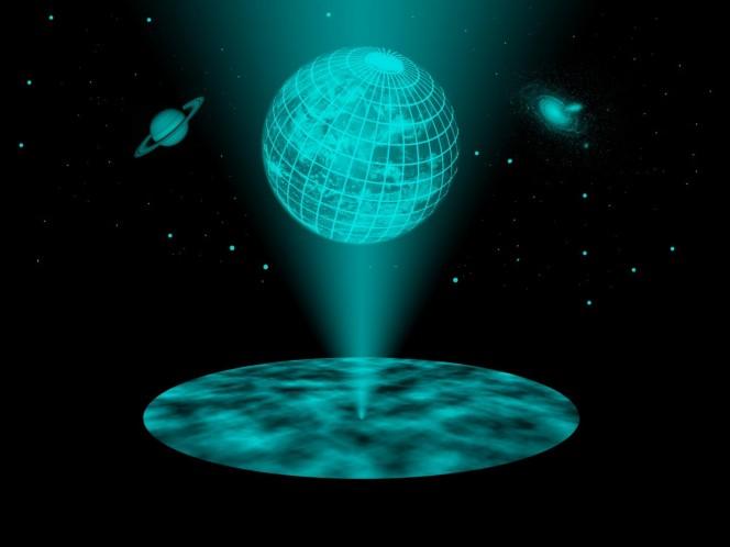 La terza dimensione non serve più.E se l'universo fosse un ologramma?