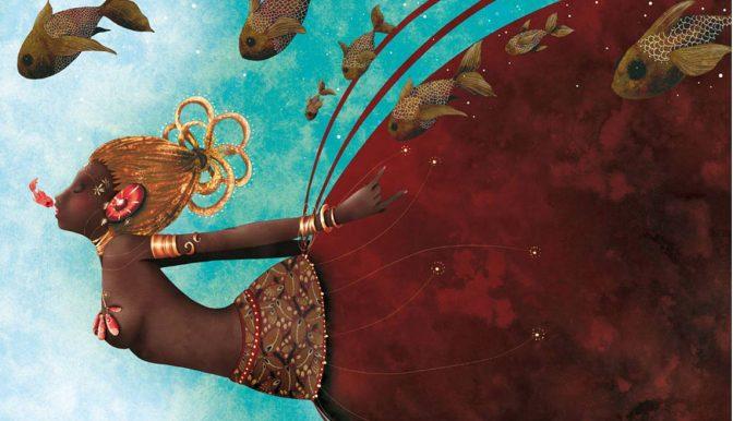 Oshun, la dea africanadell'amore e delle acque dolci