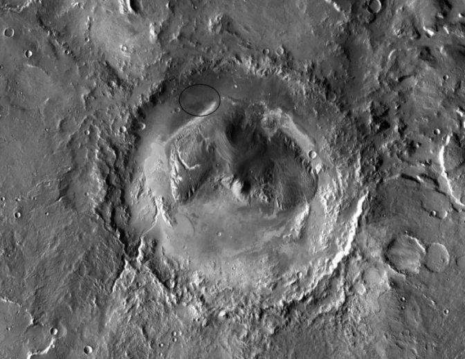 Marte,i dati di Curiosity: acqua salmastra arriva in superficie allo stato liquido