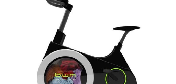 BWM – Ecco finalmente la lavatrice a pedali