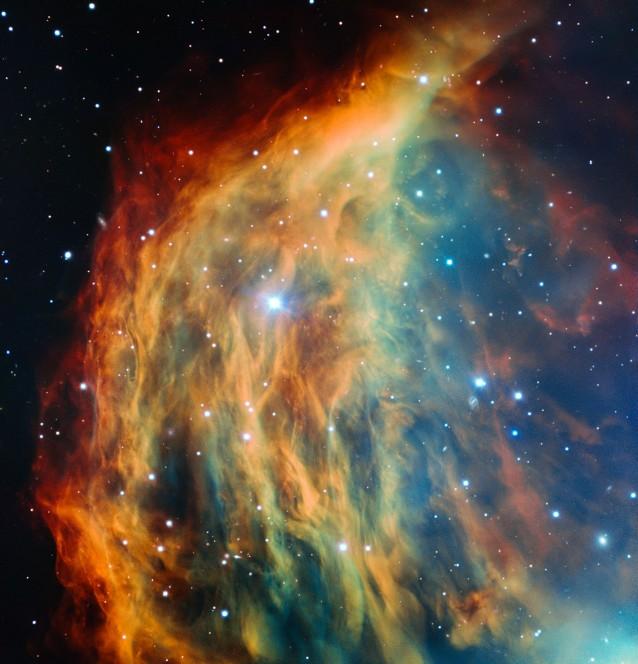 Nebulosa Medusa, un immagine che incanta
