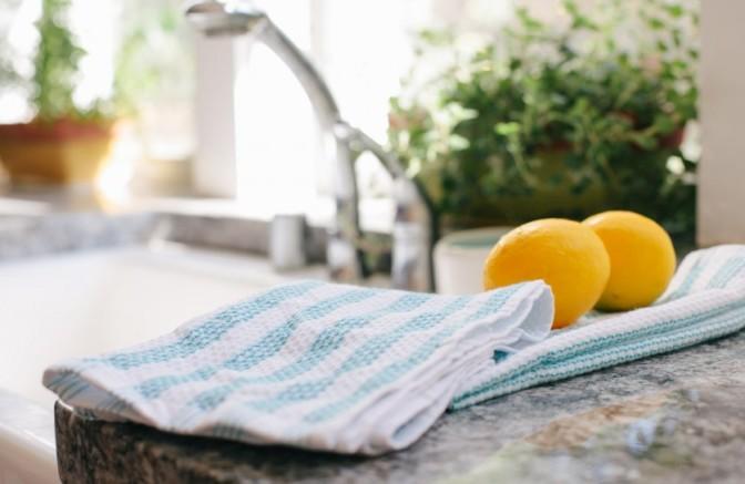 La cosa più sporca nella vostra cucina è …