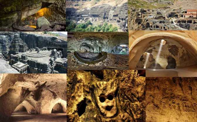 Dieci incredibili grotte del Mondo Antico