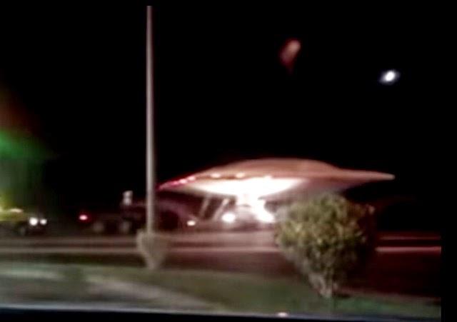 Video mostra un UFO trasportato da un camion vicino all'Area 51
