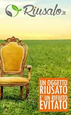 Nasce RIUSALO.IT il sito che vi permette di regalare i vostri beni contribuendo alla tutela dell'ambiente.